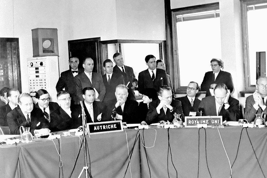 Accession of Austria to the Council of Europe (Strasbourg, 16 April 1956)