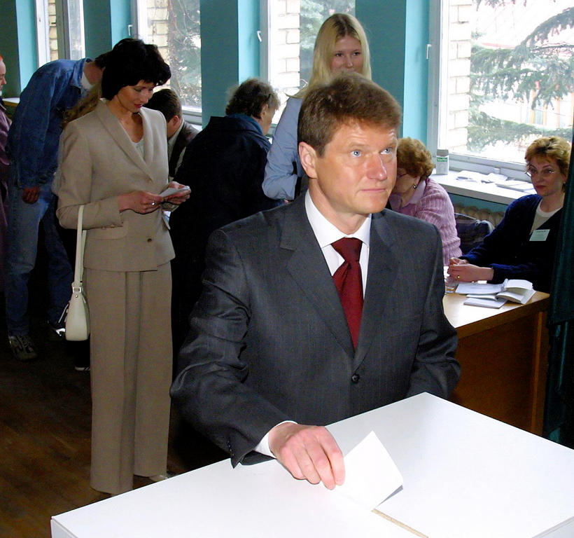 Referendum in Lithuania on the country's accession to the European Union (Vilnius, 10 May 2003)