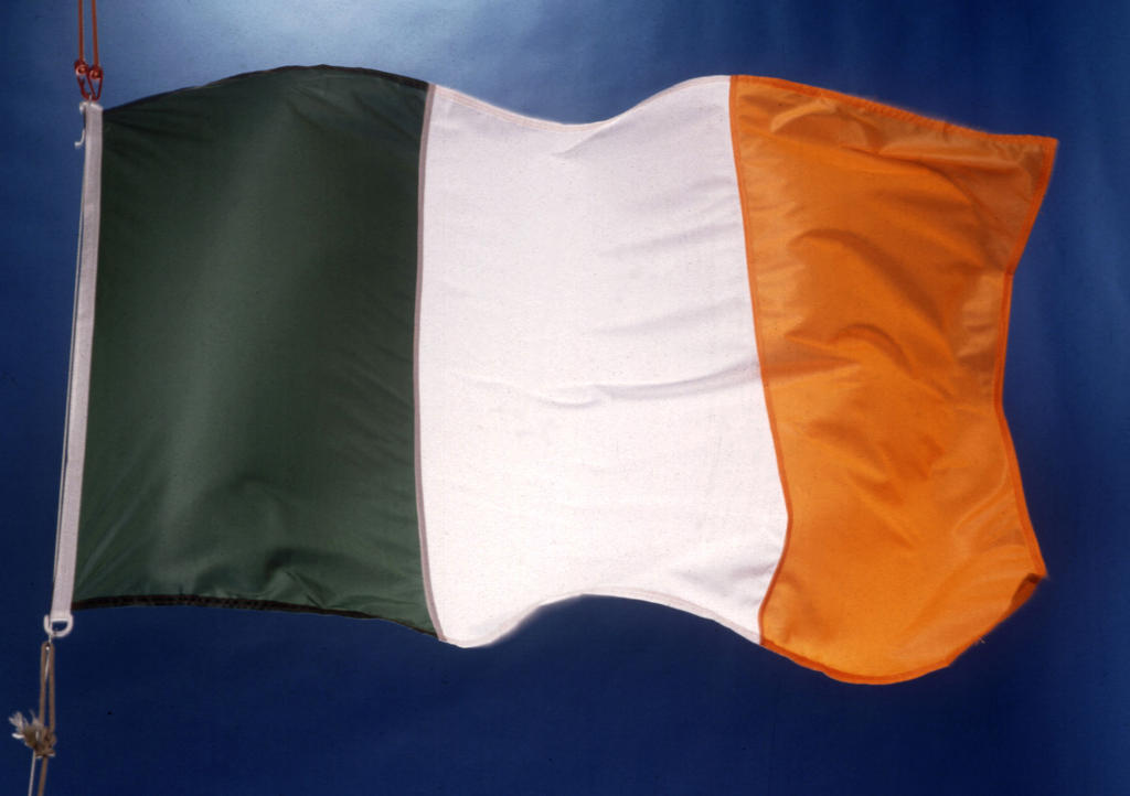 Drapeau national irlandais