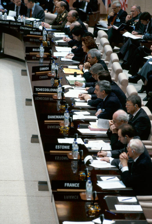 Meeting of Foreign Ministers for the North Atlantic Cooperation Council (Brussels, 20 December 1991)