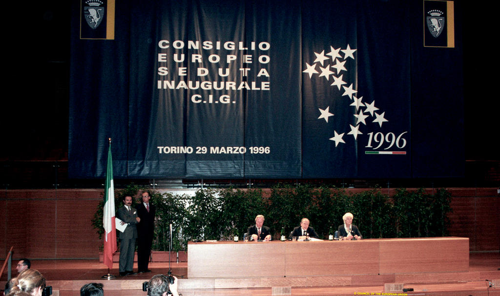 Opening of the 1996 Intergovernmental Conference (Turin, 29 March 1996)