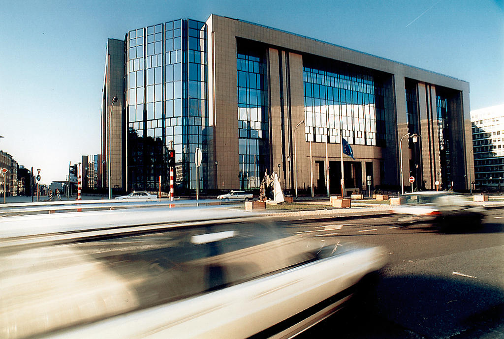 Building (Justus Lipsius) of the Council of the European Union in Brussels