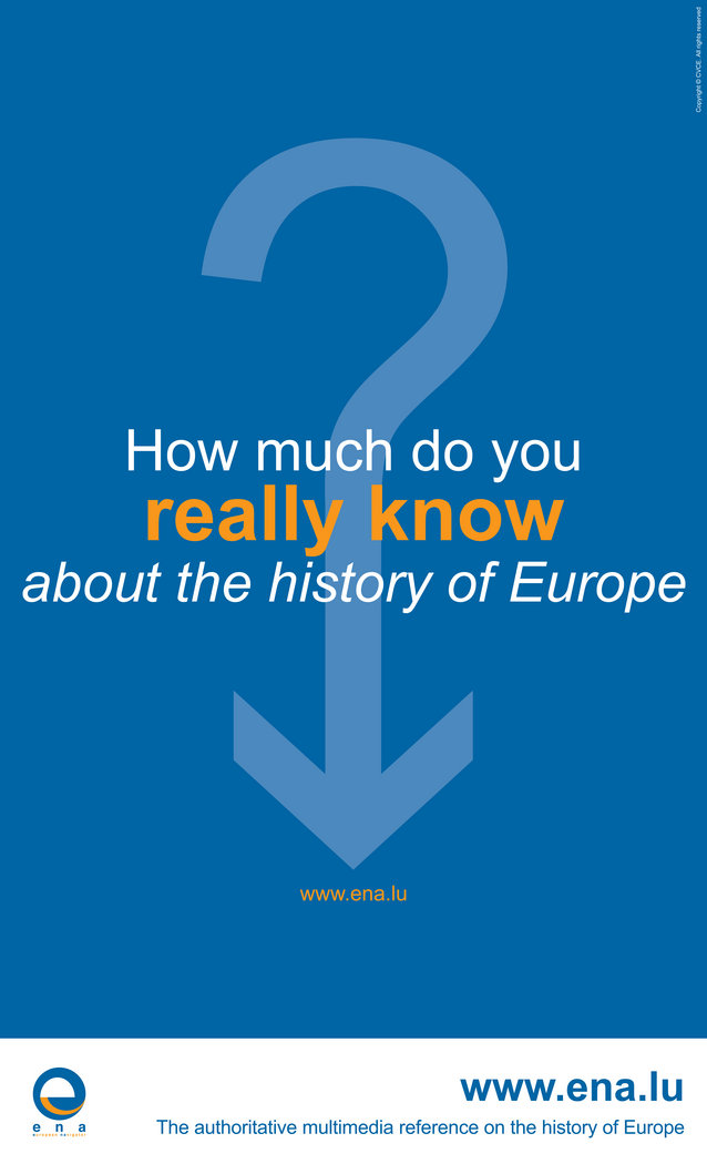 How much do you really know about the history of Europe?