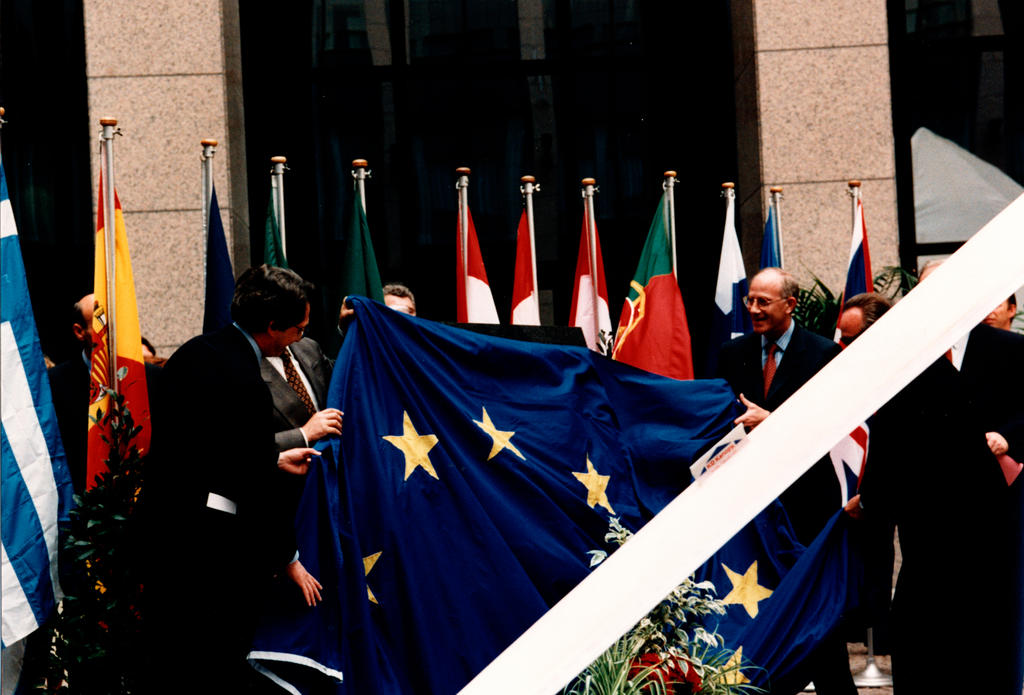 Inauguration of the Justus Lipsius Building (Brussels, 29 May 1995)