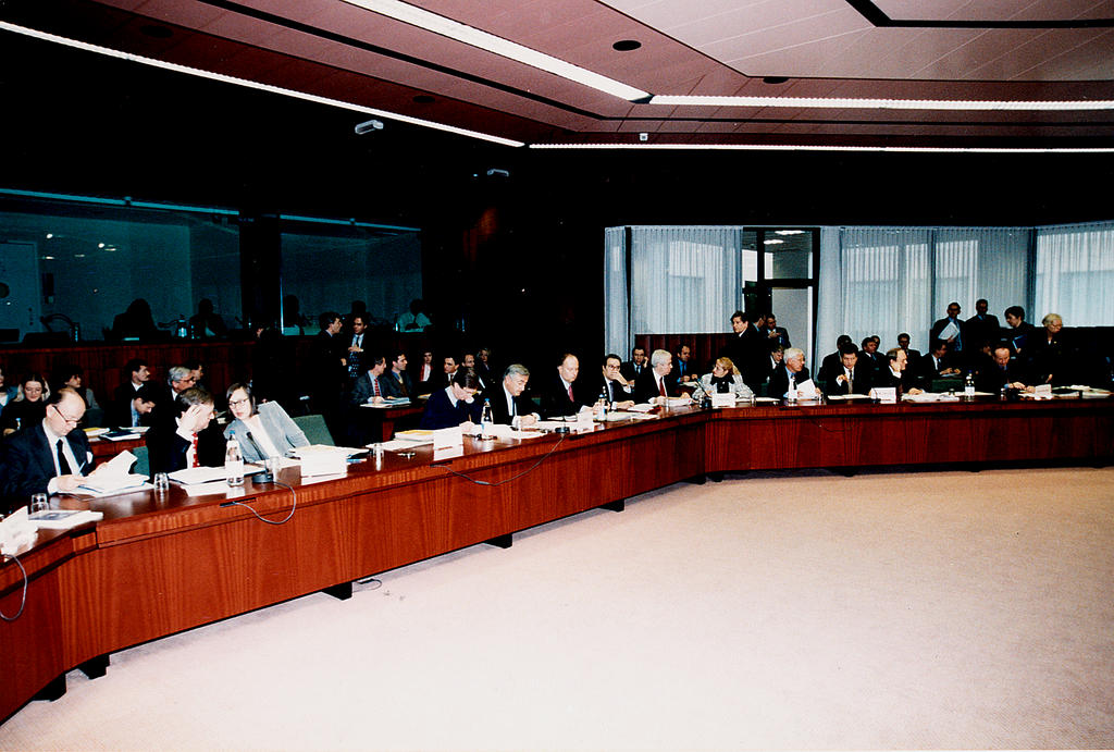 First meeting of the Economic and Financial Committee (Brussels, 18 January 1999)
