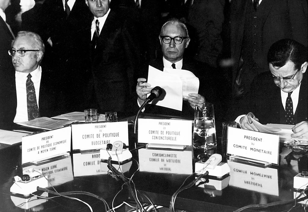 The Committee Chairmen at the Economic and Financial Affairs Council (Brussels, 8 February 1971)