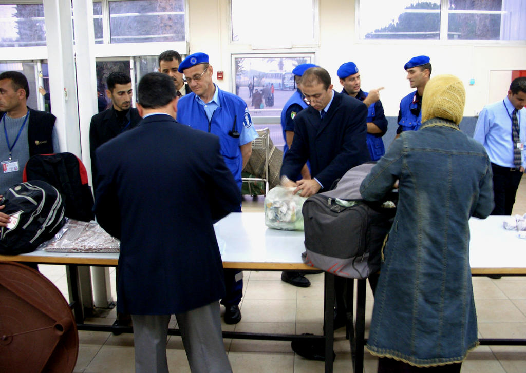 European Union Border Assistance Mission (Rafah, 12 January 2006)