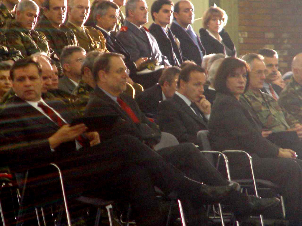 Launch of the EU Police Mission Proxima in the Former Yugoslav Republic of Macedonia (Skopje, 15 December 2003)
