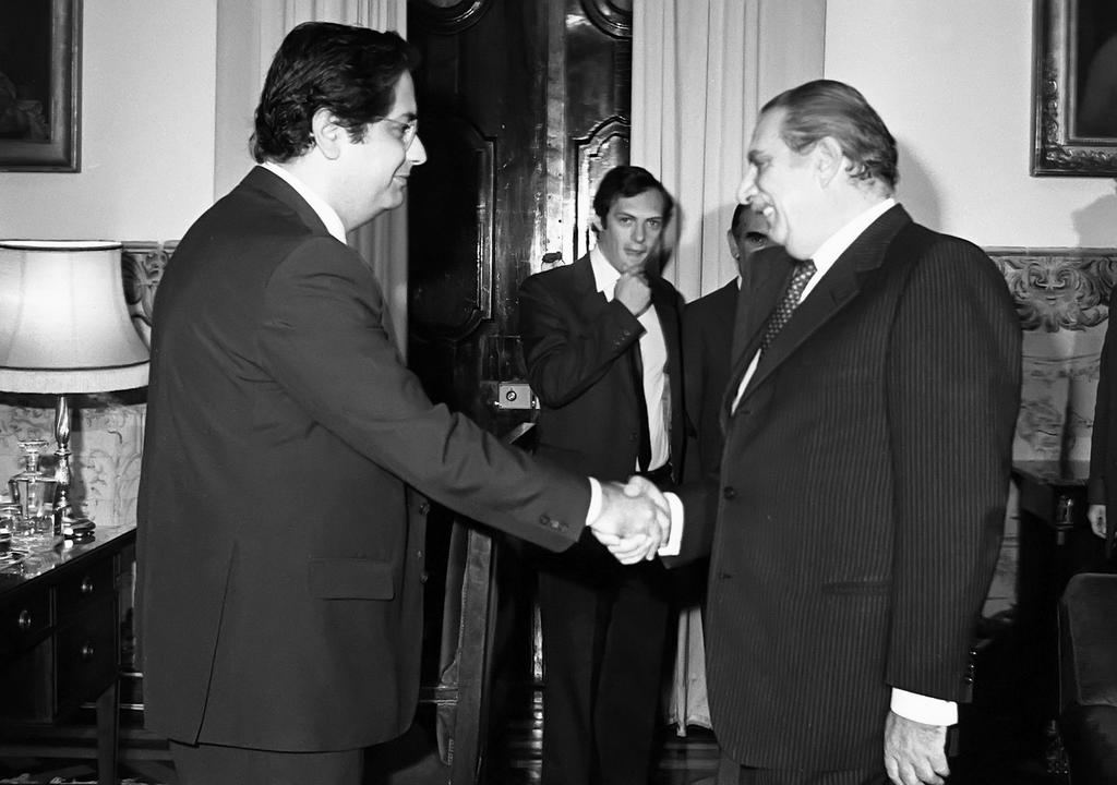Working visit of Lorenzo Natali to Portugal (Lisbon, 28 October 1983)