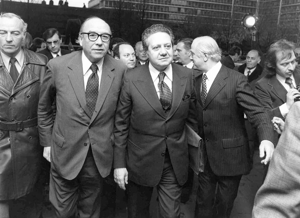 Mário Soares visits the European Commission (Brussels, 11 March 1977)