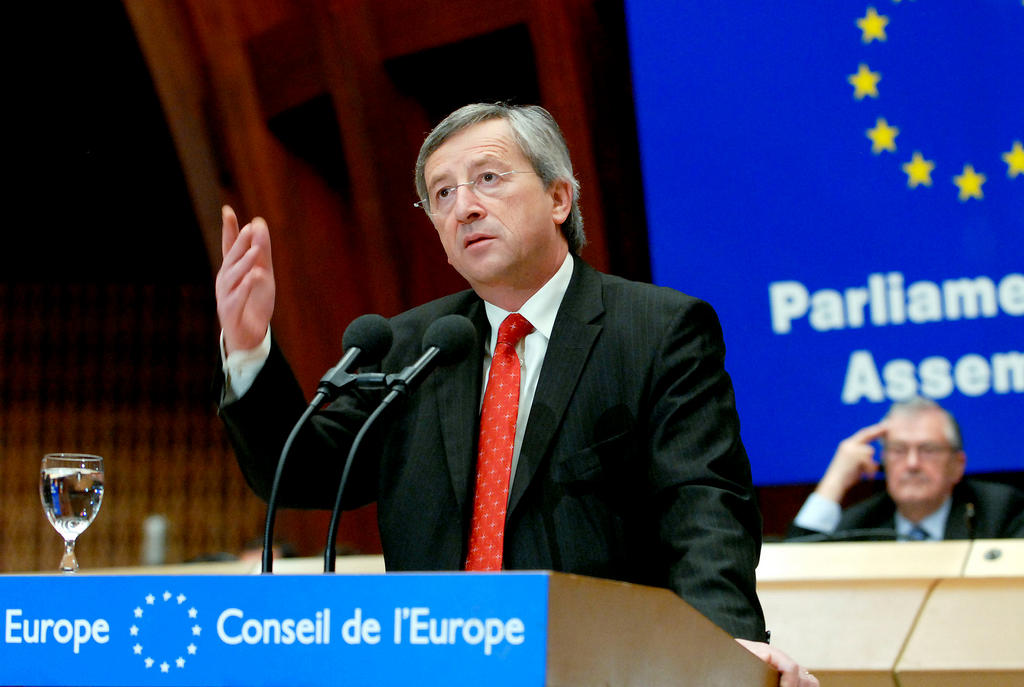 Presentation by Jean-Claude Juncker of his report on relations between the Council of Europe and the European Union (Strasbourg, 11 April 2006)