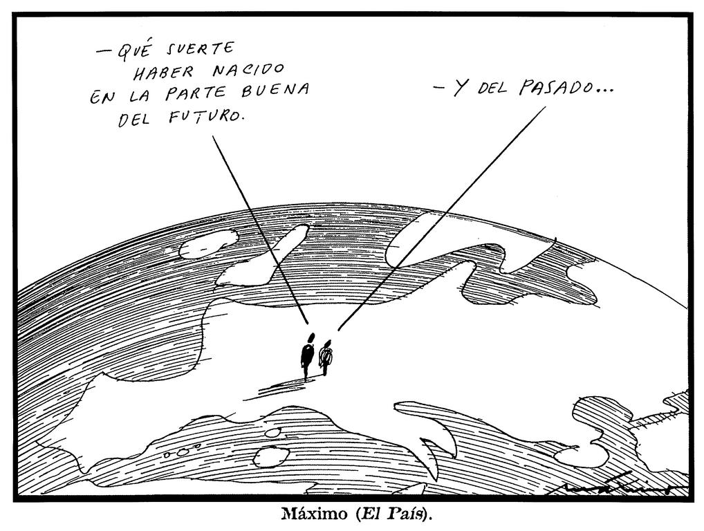 Cartoon by Máximo on Europe and its citizens