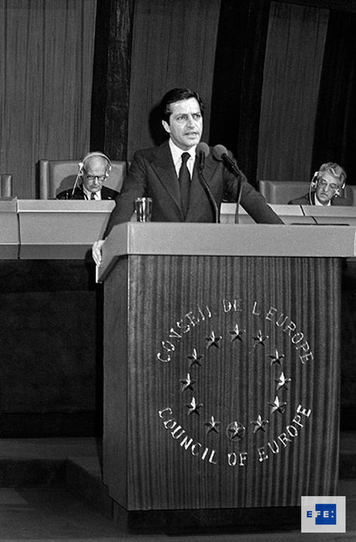 Address given by Adolfo Suárez to the Council of Europe (Strasbourg, 31 January 1979)
