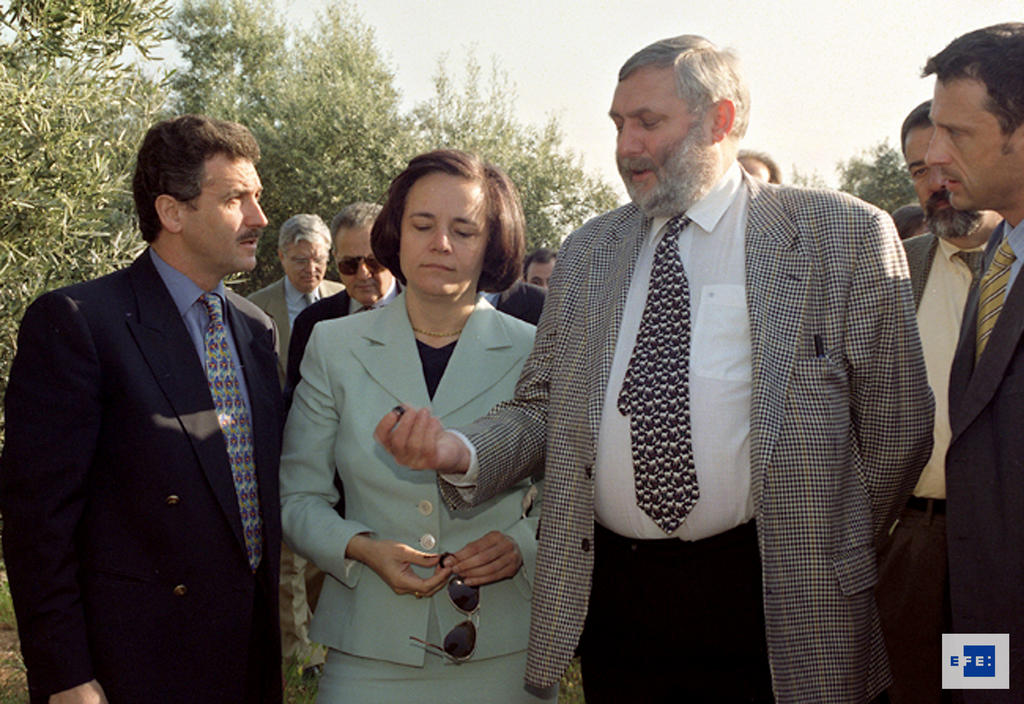 Visit by Franz Fischler, European Commissioner for Agriculture (Cordova, 1 April 1997)