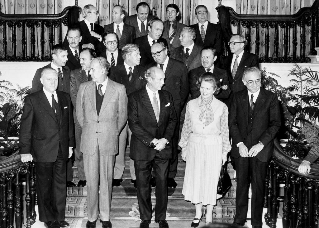Group photo taken at the Dublin European Council (Dublin, 29 and 30 November 1979)