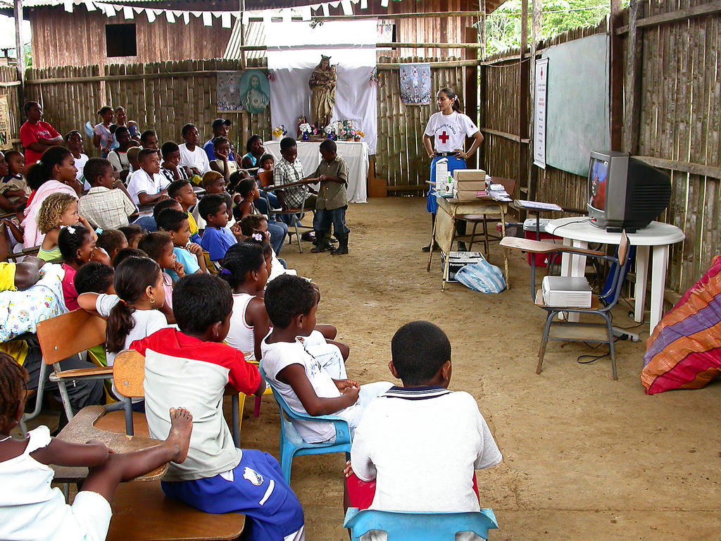 Hygiene training programme (Colombia, 2005)