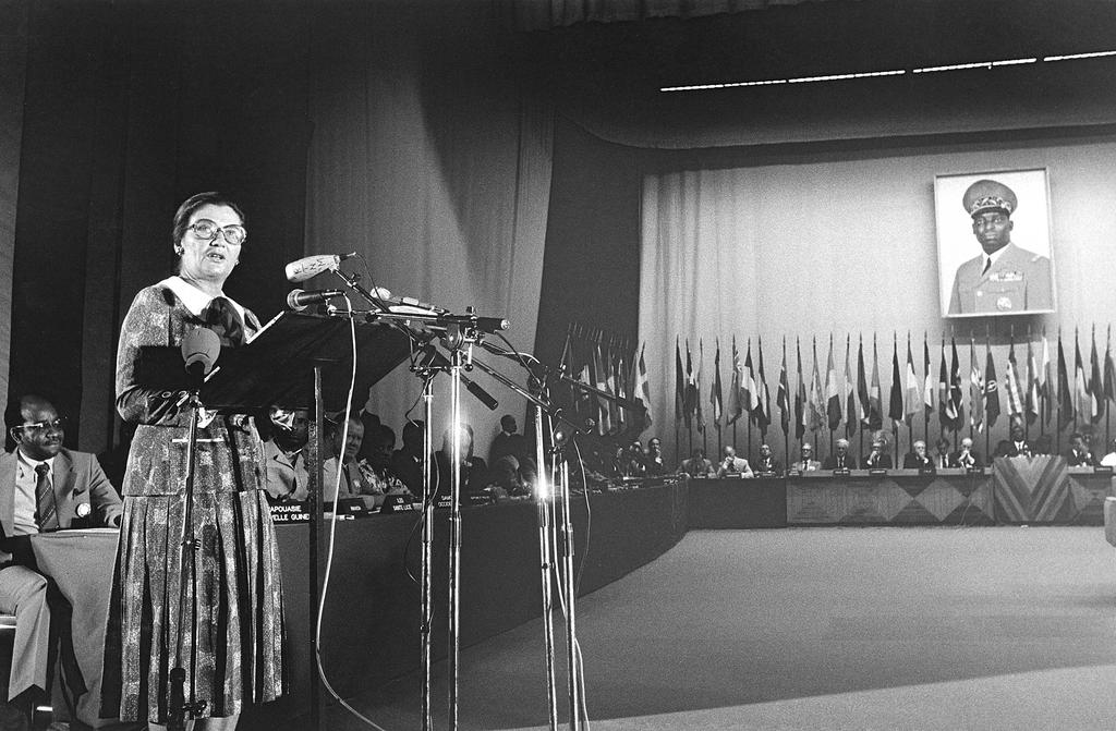Allocution de Simone Veil lors de la convention de Lomé II (31 octobre 1979)