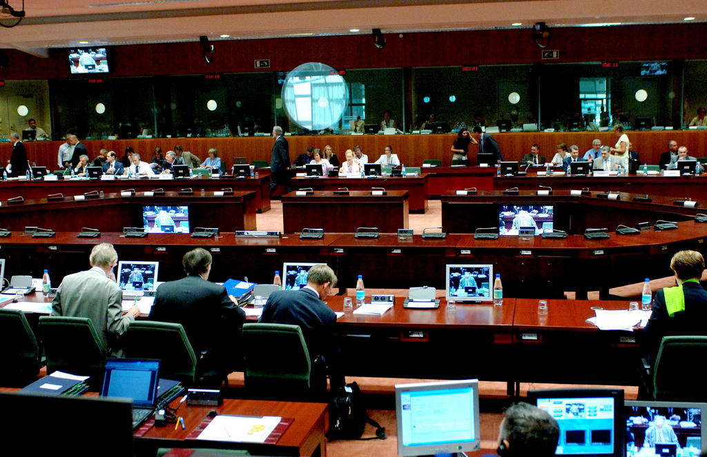 View of the conference room of the General Affairs and External Relations Council (Brussels, 17 July 2006)