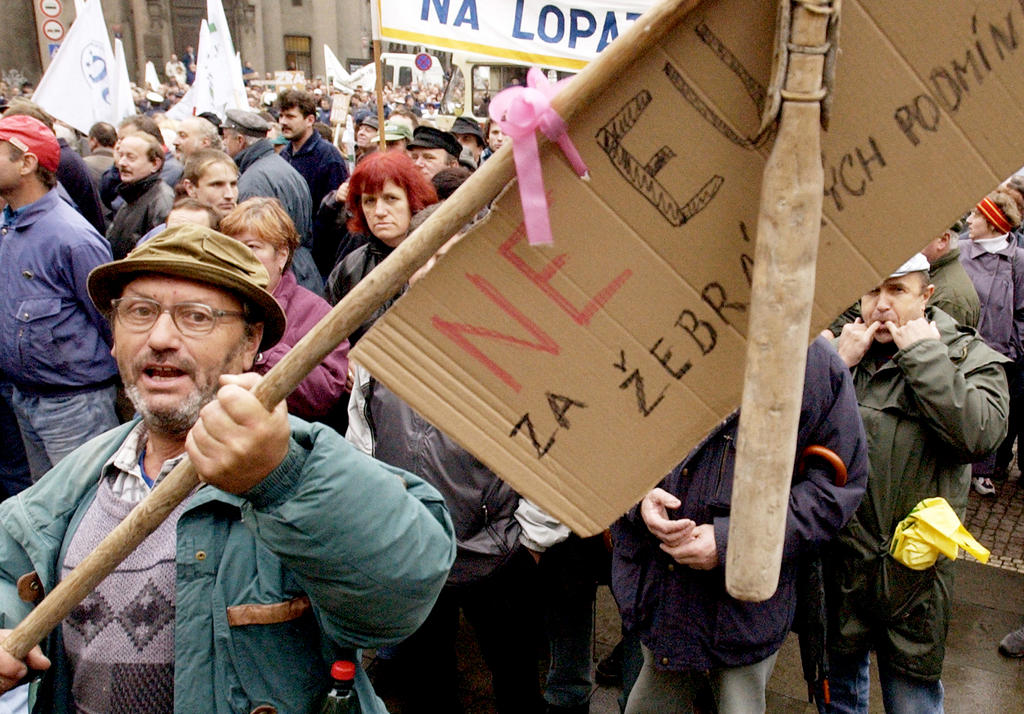 Demonstration by Czech farmers (Prague, 30 October 2002)