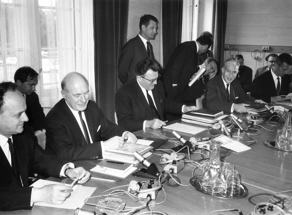 915th and final meeting of the High Authority in Luxembourg (28 June 1967)