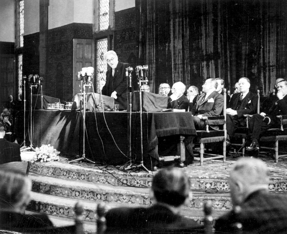 Address given by Paul Ramadier at the Congress of Europe in The Hague (The Hague, 7 May 1948)
