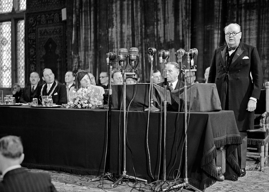 Address given by Winston Churchill at the Congress of Europe in The Hague (7 May 1948)