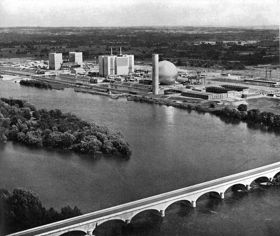 Nuclear power plant in Chinon, Indre-et-Loire