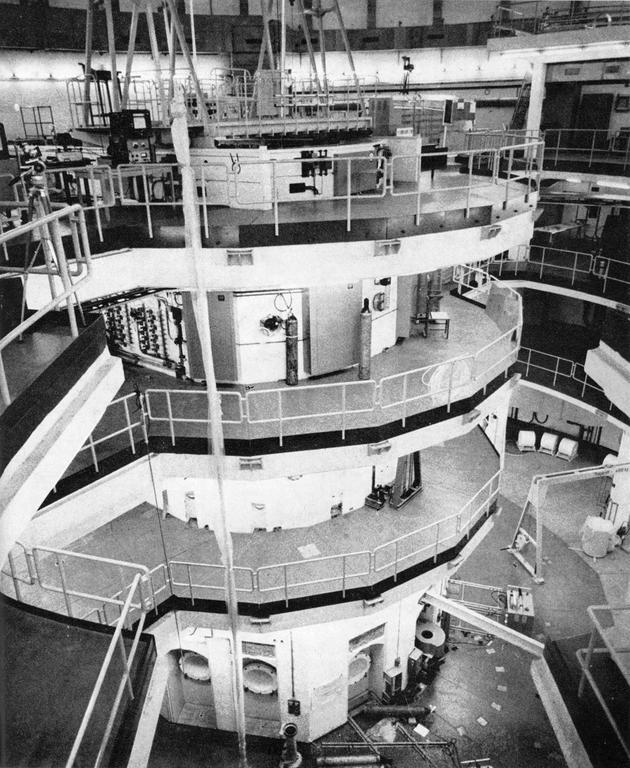 Overall view of the Mol reactor