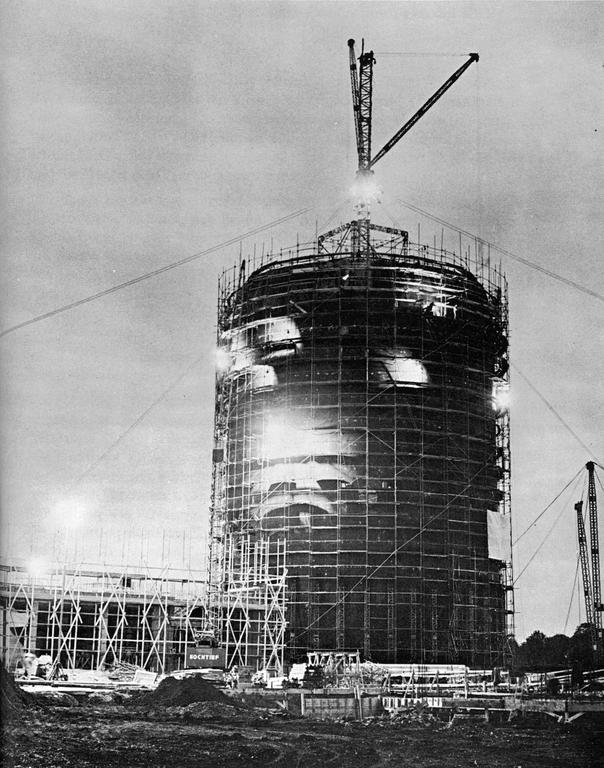 Construction of the Gundremmingen nuclear power plant