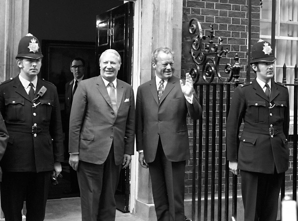 Meeting between Willy Brandt and Edward Heath (London, 20 April 1972)