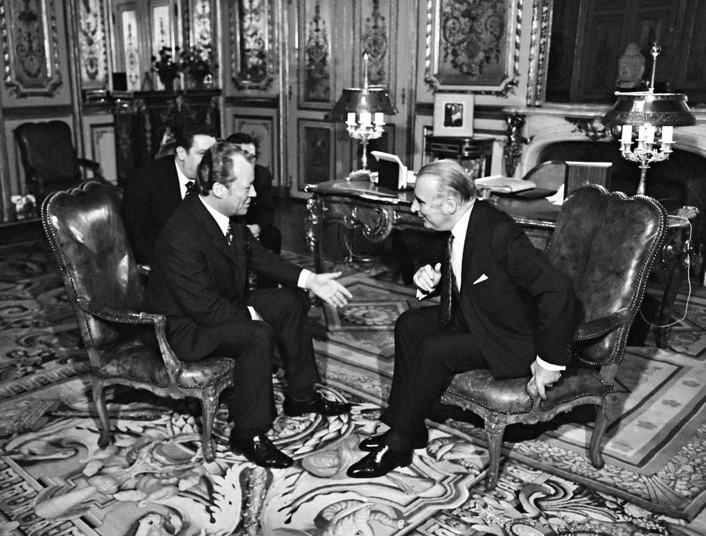 Rencontre entre Willy Brandt et Georges Pompidou (Paris, 3 décembre 1971)