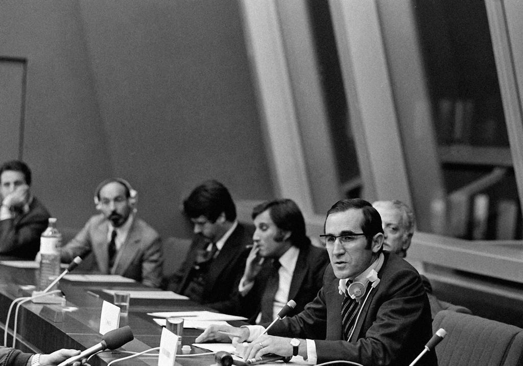 Official visit of António Ramalho Eanes to the European Parliament (Brussels, 13 November 1978)