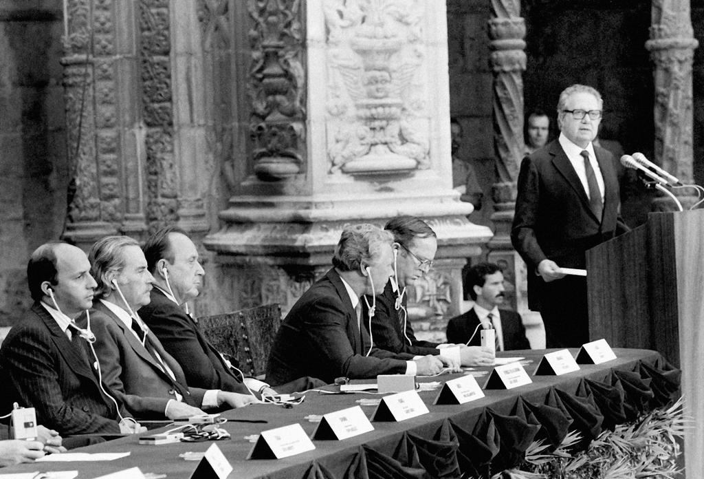 Address given by Mário Soares at the ceremony held to mark the signing of Portugal's Treaty of Accession to the European Communities (Lisbon, 12 June 1985)