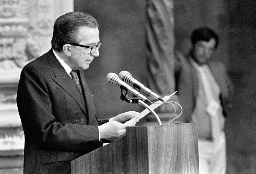 Address given by Giulio Andreotti at the ceremony held to mark the signing of Portugal's Treaty of Accession to the European Communities (Lisbon, 12 June 1985)