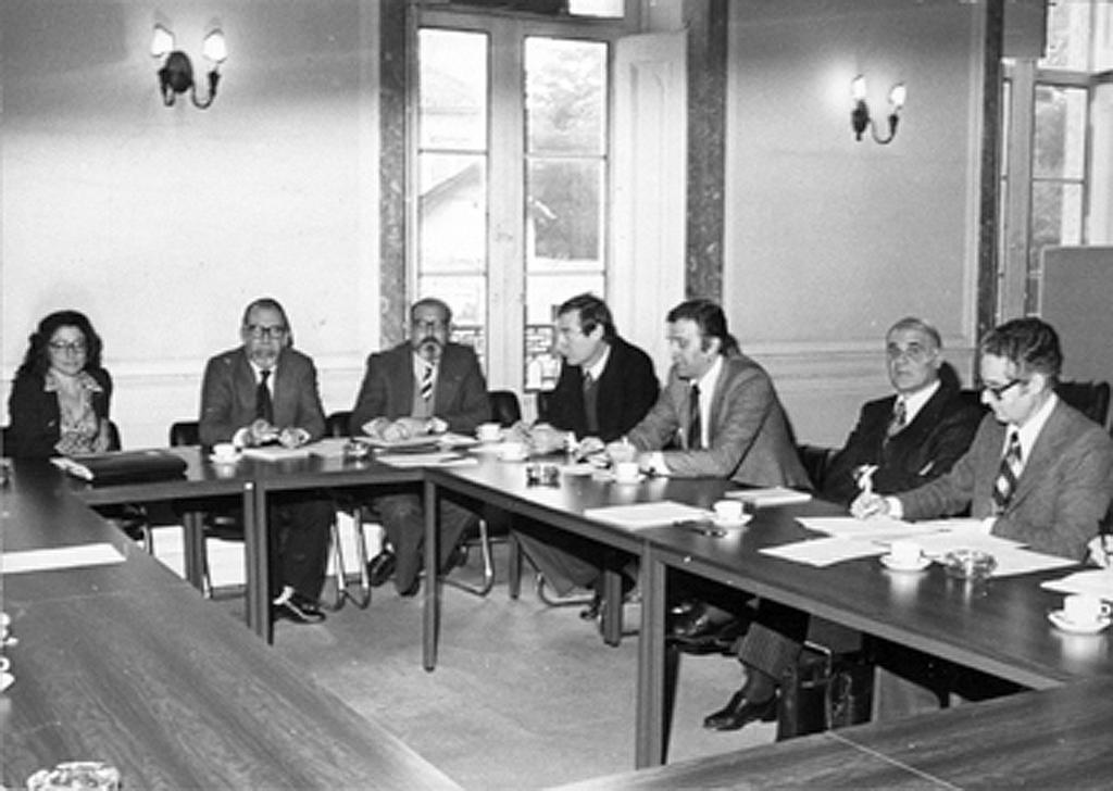 Working meeting with the Council of Europe (6 February 1980)
