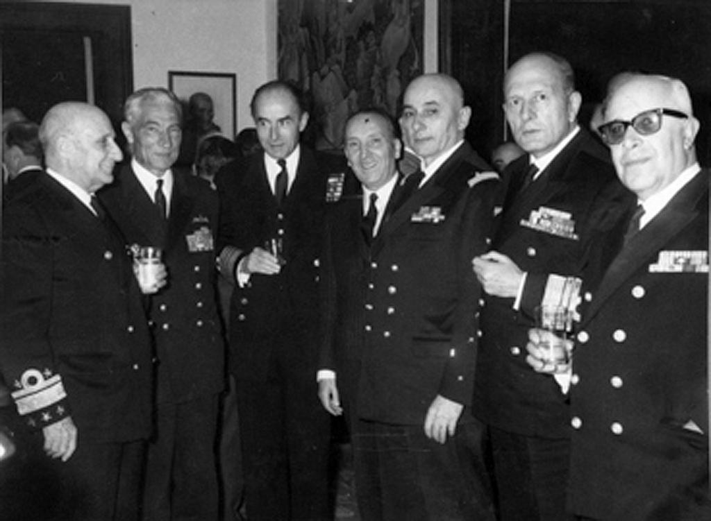 General Gomes de Araújo and senior NATO officers (Lisbon, 3 March 1966)