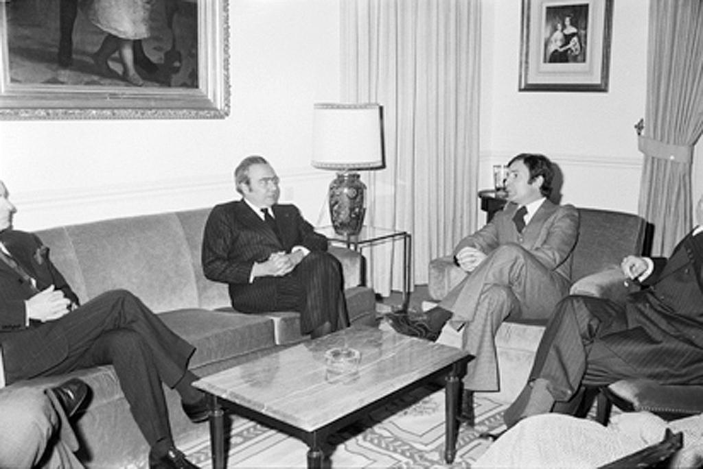 Official visit by François-Xavier Ortoli to Portugal (Lisbon, 6 March 1976)