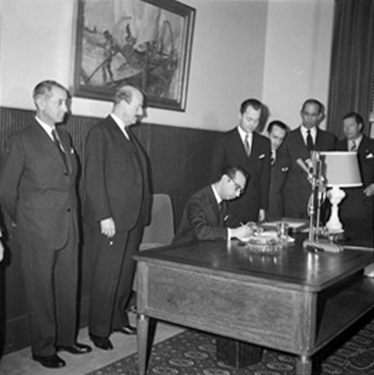 Signing of the EFTA Convention (Lisbon, 30 December 1959)