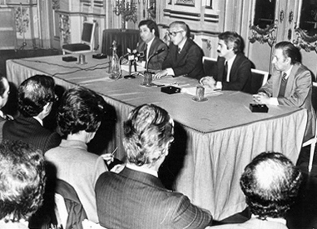 Press conference held by Álvaro Barreto (Lisbon, 13 April 1981)