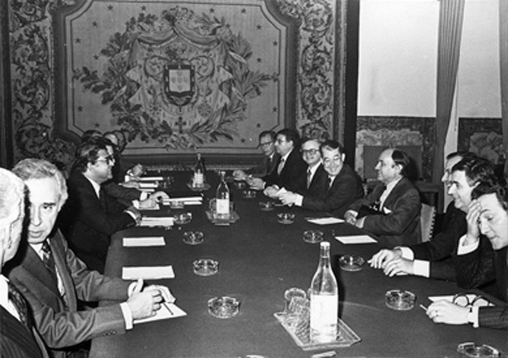 Meeting held in connection with Portugal's accession negotiations (Lisbon, 11 December 1981)