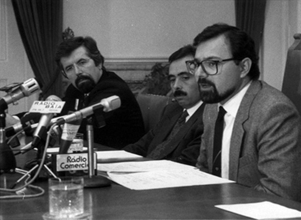 Press conference on the second stage of Portugal's accession to the European Communities (30 November 1990)
