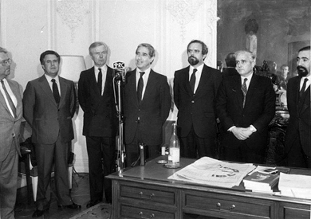 Meeting with the European Commissioner, António Cardoso e Cunha (2 December 1985)