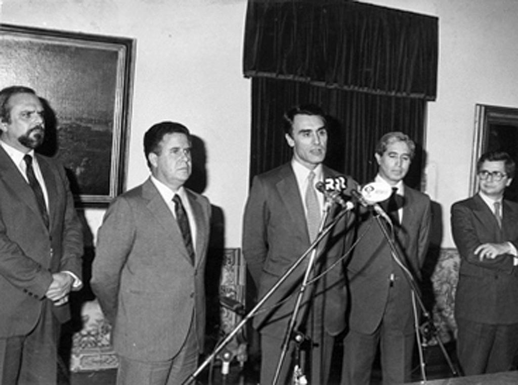 Address given by Aníbal Cavaco Silva (24 January 1986)
