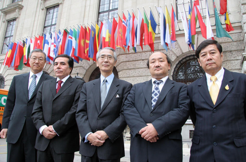 Group photo of the OSCE Asian Partners (Vienna, 19 October 2006)