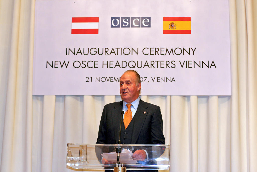 Address by Juan Carlos at the inauguration ceremony for the new OSCE Secretariat (Vienna, 21 November 2007)