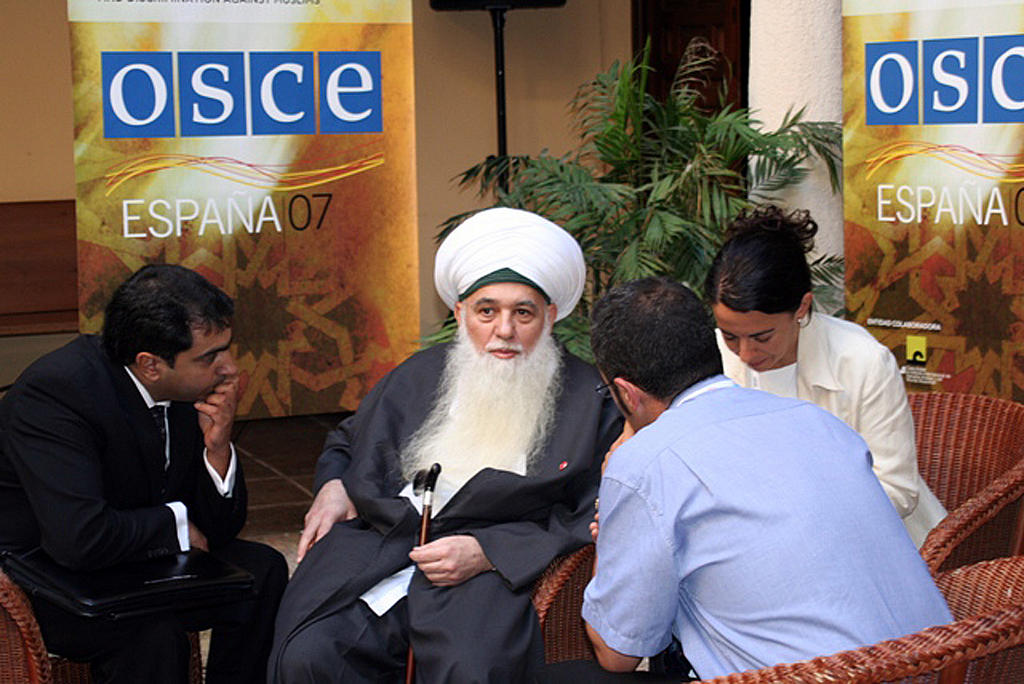 Shaykh Hisham Kabbani at the OSCE Conference on Intolerance and Discrimination against Muslims (Cordoba, 9 October 2007)