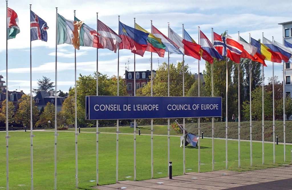 Flags of the Council of Europe's Member States
