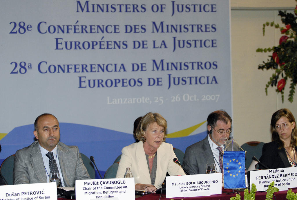 Conference of the Ministers for Justice of the Member States of the Council of Europe (Lanzarote, 25–26 October 2007)