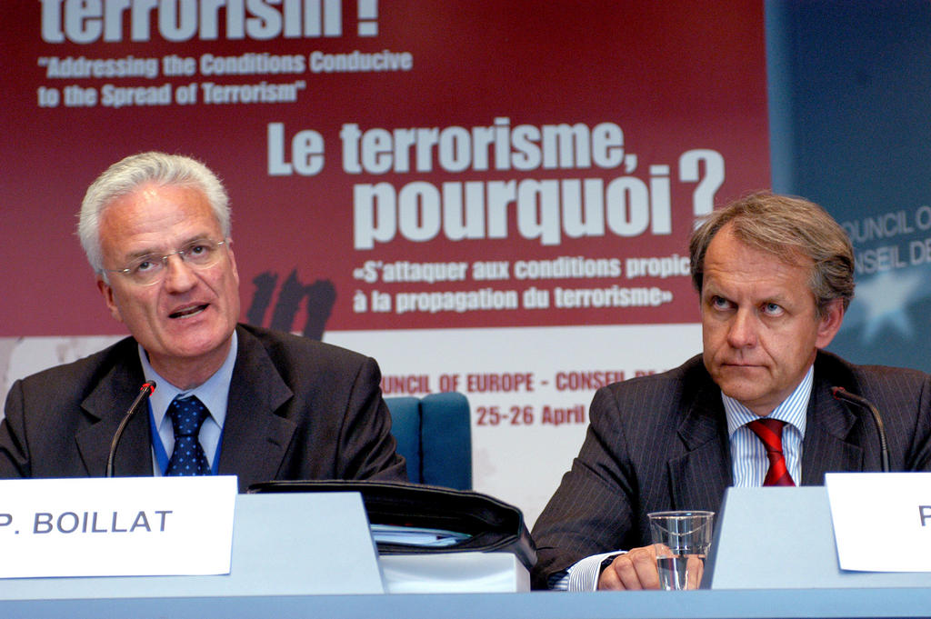 International conference held by the Council of Europe on the question of terrorism (Strasbourg, 25 April 2007)