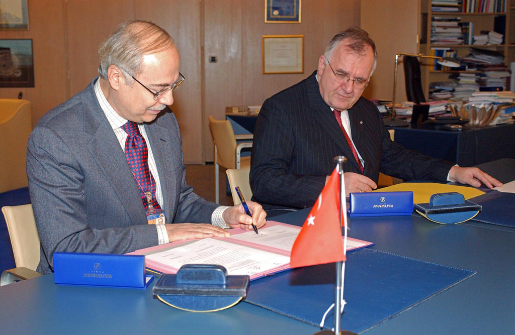 Ratification by Turkey of Protocol No 6 of the European Convention on Human Rights concerning the abolition of the death penalty (Strasbourg, 12 November 2003)